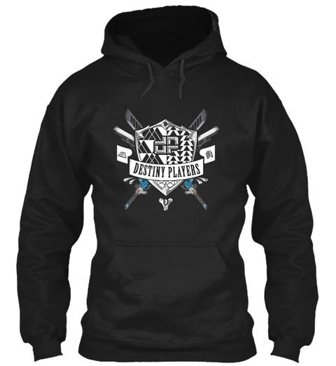 Destiny Players Black Sweatshirt Front