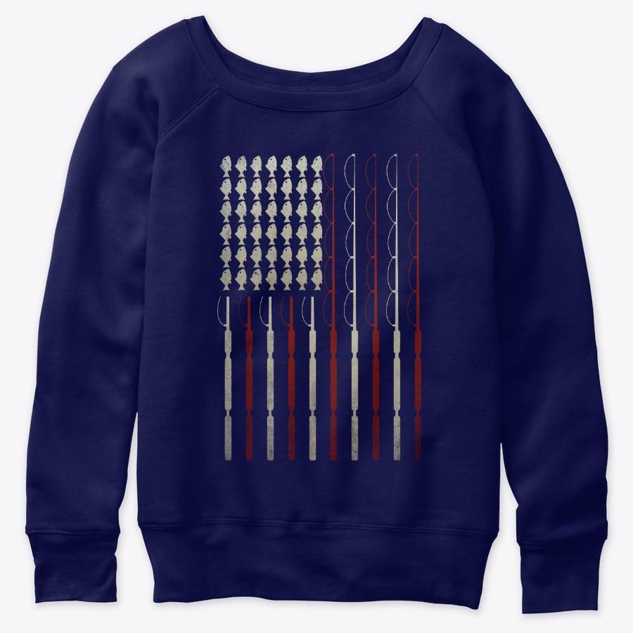 America Flag Usa Lover Fishing Lover LongSleeve Tee