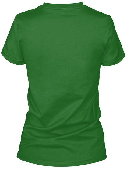 Hooligan Shirt Irish Green Women's T-Shirt Back