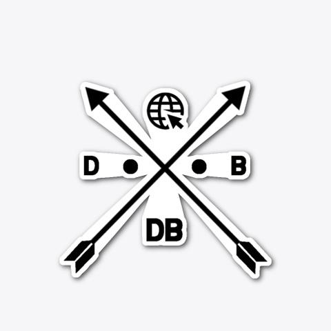 Dewald Black Internet Collection Standard T-Shirt Front