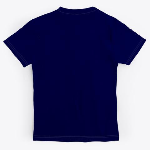 Yoga ,Inhale & Exhale,Fun Dark Navy T-Shirt Back