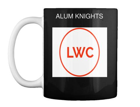 Alum Knights Lwc Black T-Shirt Front