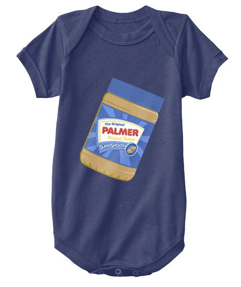 Palmer The Original Peanut Butter Navy  T-Shirt Front