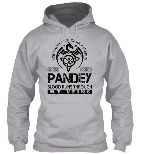 Pandey   Name Shirts Sport Grey Sweatshirt Front