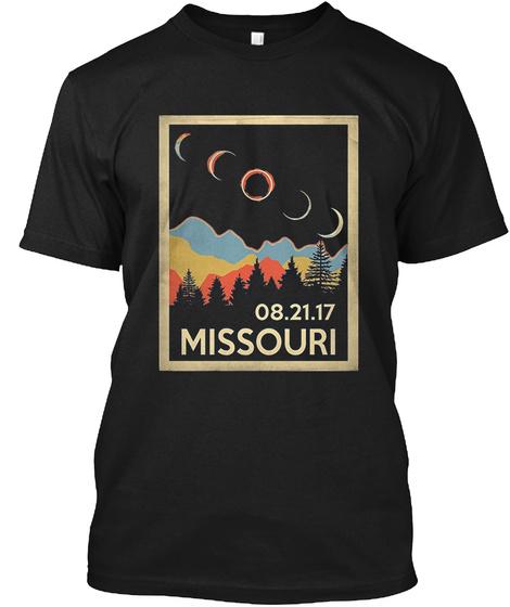 08.21.17 Missouri Black T-Shirt Front