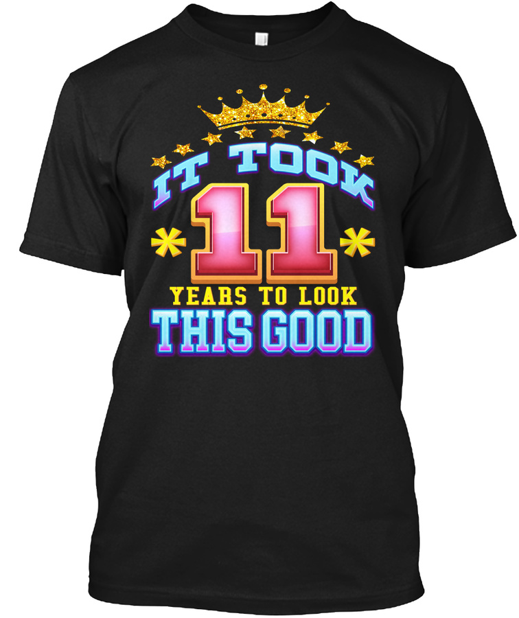11th Birthday Shirt Age 11 Years Old Unisex Tshirt