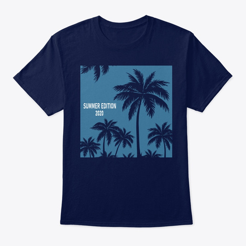 New Summer Edition 2020 Navy T-Shirt Front