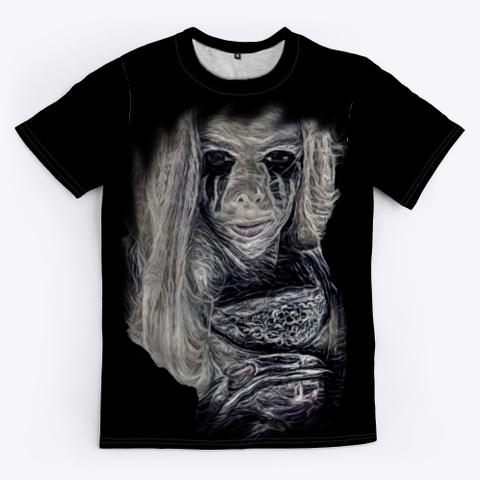 Call Of The Banshee Black T-Shirt Front