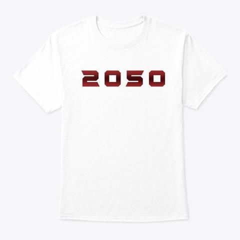 2050 Cast White T-Shirt Front