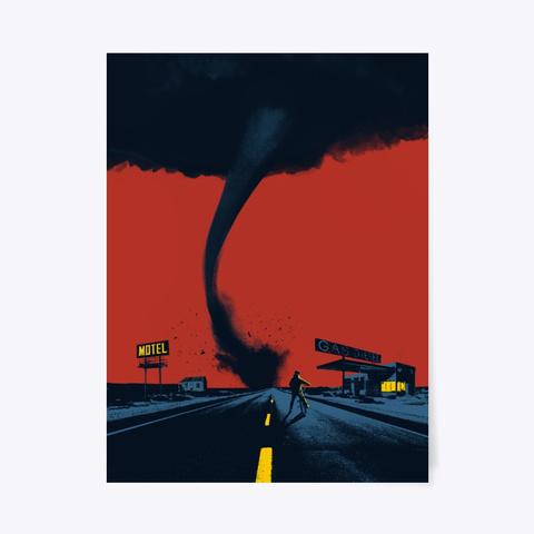 Tornado Poster Standard T-Shirt Front