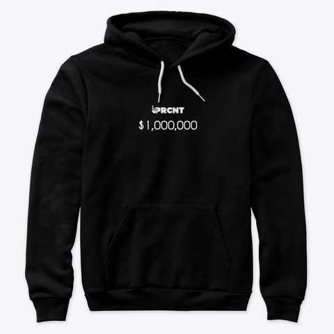 1 Prcnt $1,000,000 Black T-Shirt Front