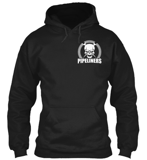 Pipeliners Black T-Shirt Front