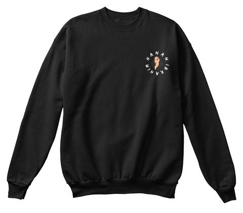 Hanan Ibrahim Sweatshirt Logo Black Sweatshirt Front