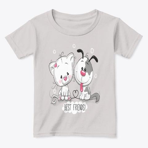 Best Friends  Sport Grey  T-Shirt Front