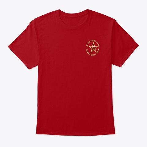 Jules Mama Vapes Deep Red T-Shirt Front