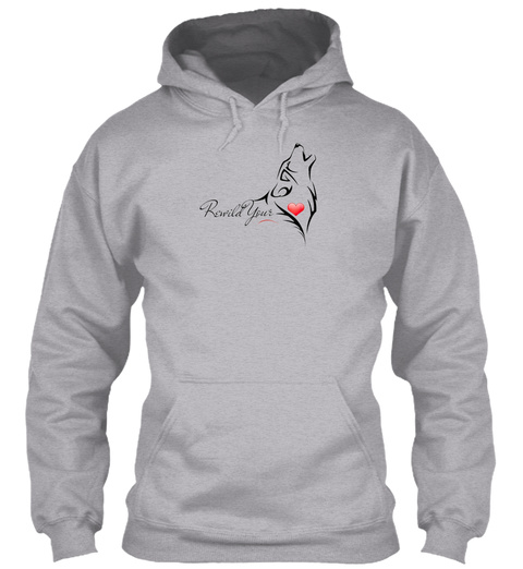 Summer Rewilding Adult Sweatshirts   Sport Grey Camiseta Front