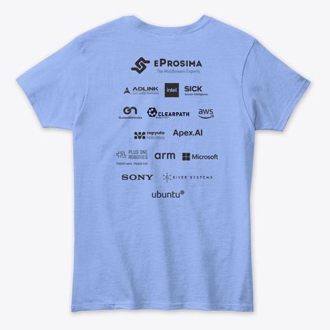 Ros World 2020 Tshirts Light Blue T-Shirt Back