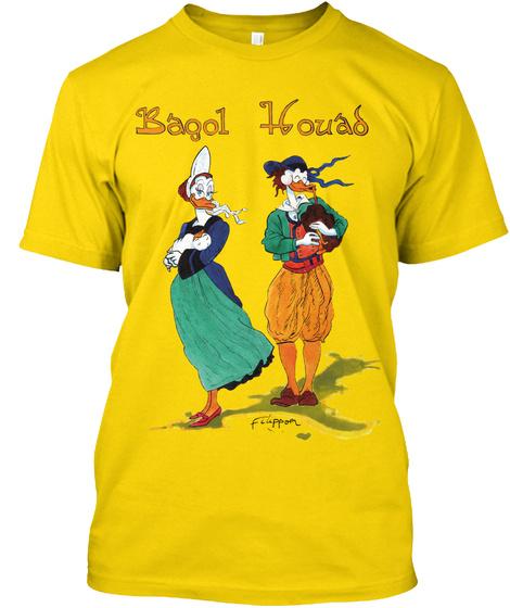 Baqol Houas Fiuppom Daisy T-Shirt Front
