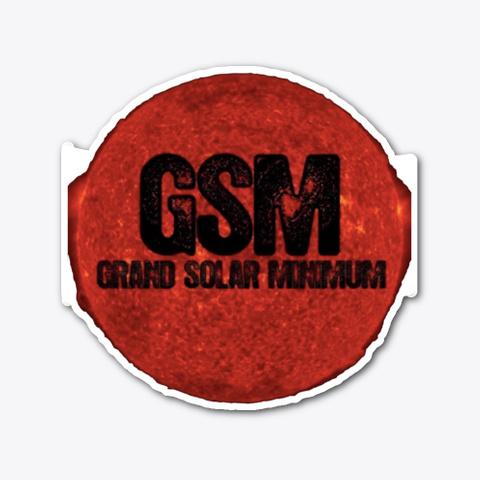 Grand Solar Minimum Stickers Standard T-Shirt Front