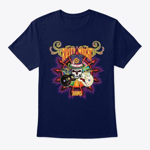 Rwb Wheel Of Misfortune Navy T-Shirt Front