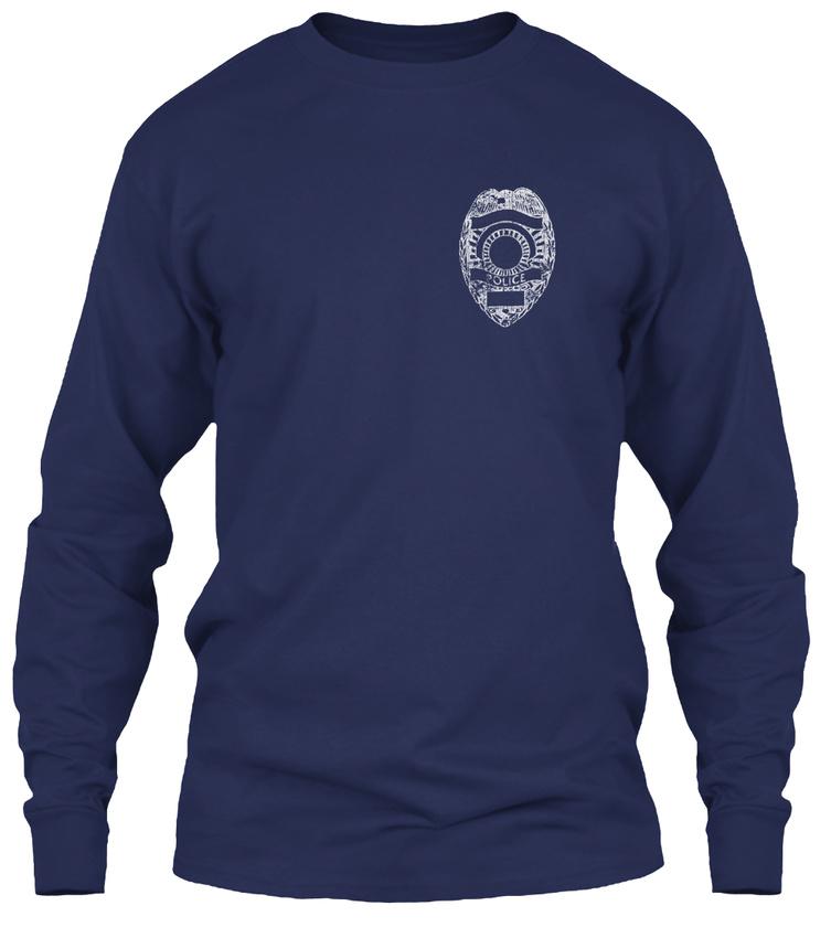 Thin-Blue-Line-Unappreciated-Gildan-Long-Sleeve-Tee-T-Shirt thumbnail 10