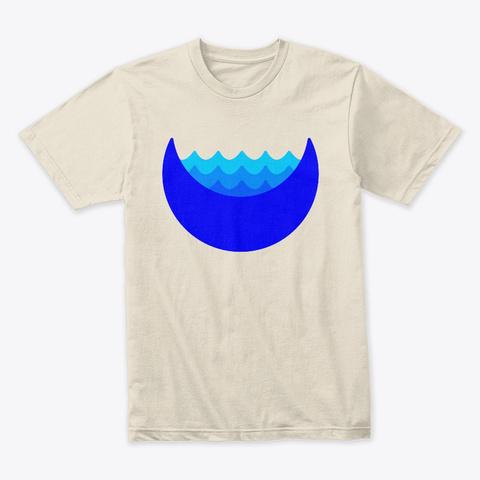 Dive Tee Blue Cream T-Shirt Front