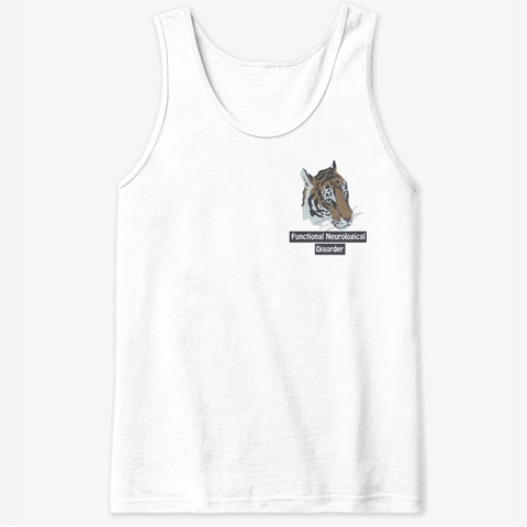 Fnd Tiger White T-Shirt Front