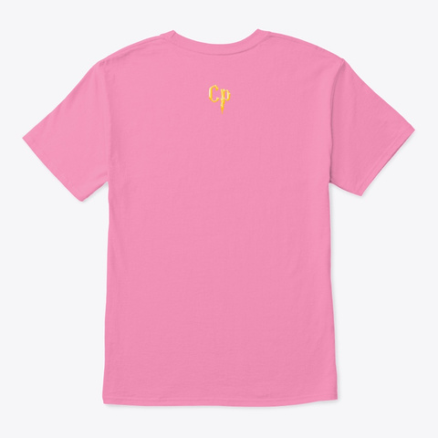 T Shirt Mágica De Hechizos Pink T-Shirt Back