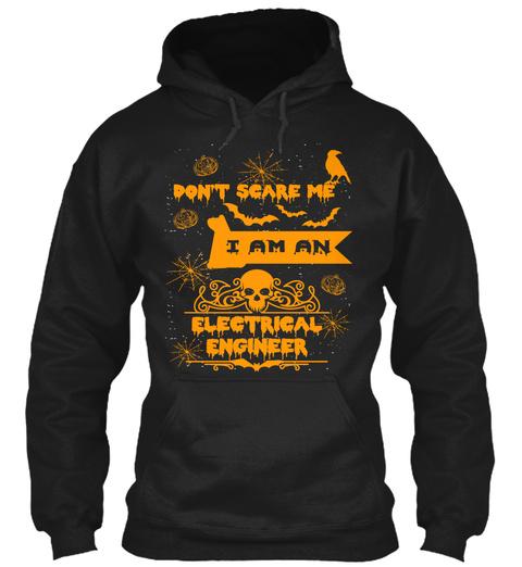 Electrical Engineer Halloween Shirt Mugs Black Sweatshirt Front