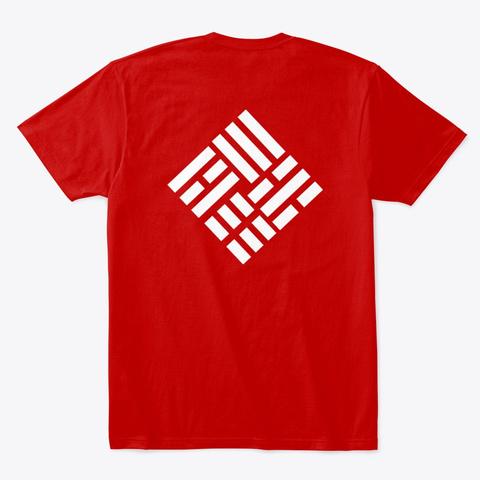 Taekwondo Nouvea 4 Classic Red T-Shirt Back