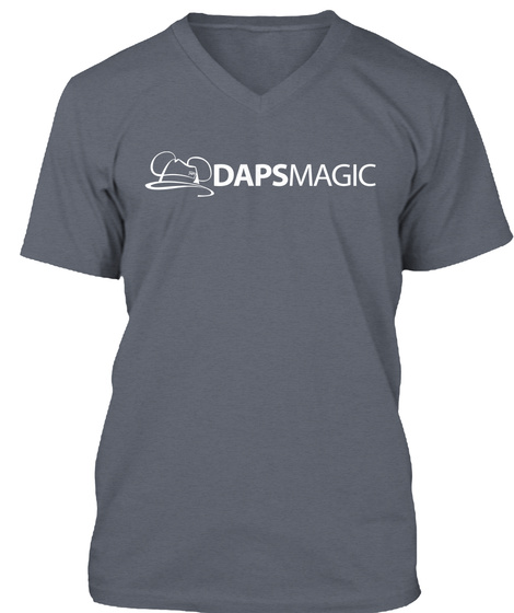 Dapsmagic Deep Heather T-Shirt Front