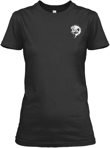 Move Over Boys! Black T-Shirt Front