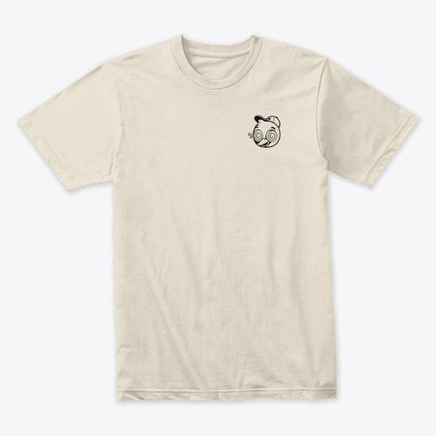Tuffy Logo Cream T-Shirt Front