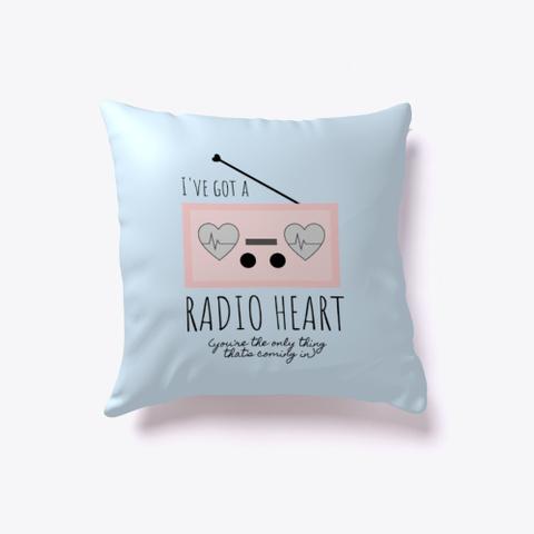 Radio Heart 2 (Rainbow Kitten Surprise) Pale Blue T-Shirt Front
