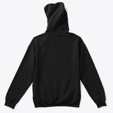 Hoodie: Peace Black T-Shirt Back