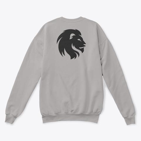 New Hooddies 2019 All Coloers Lion Art Light Steel  T-Shirt Back