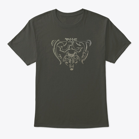 The Cult Smoke Gray T-Shirt Front