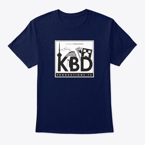 Kbd Classic Navy T-Shirt Front