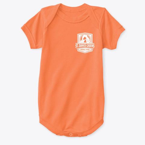 St Dane's Swag Orange T-Shirt Front