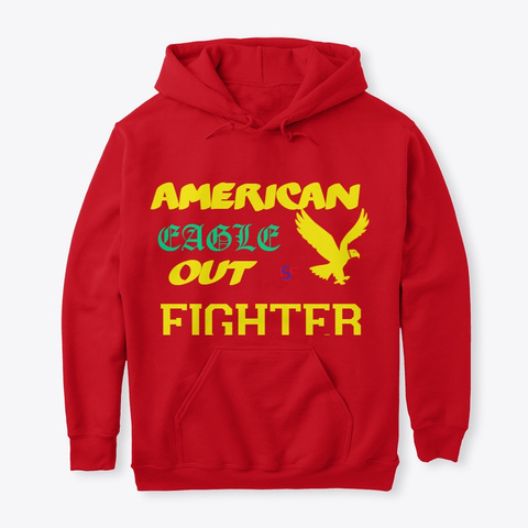 Eagle Red Sweatshirt Front