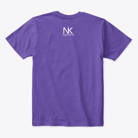 Pony Tudes Purple  T-Shirt Back
