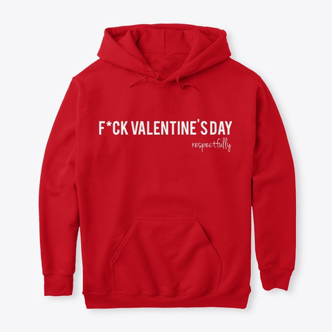 F V Day Red T-Shirt Front