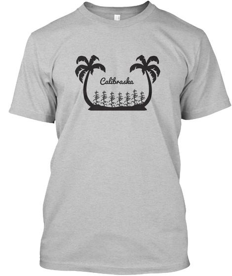 Calibrasha Light Heather Grey  T-Shirt Front