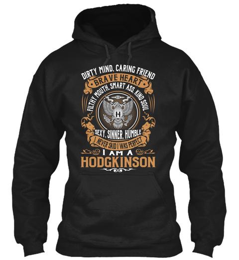 Hodgkinson Black T-Shirt Front