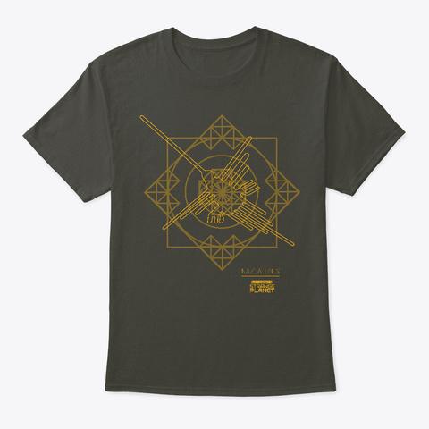 Nazca Lines Smoke Gray T-Shirt Front