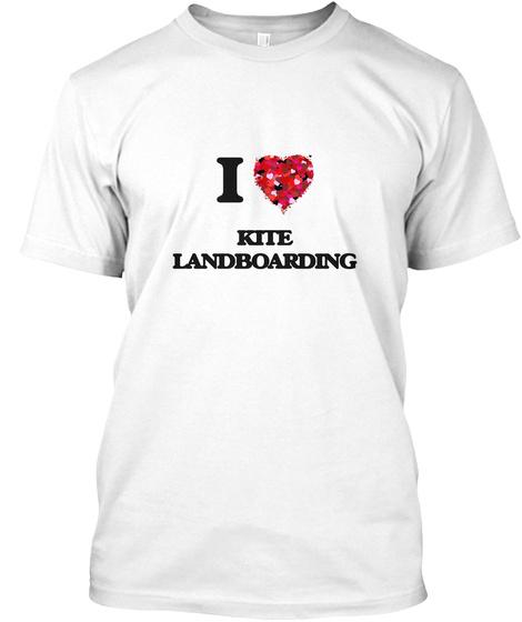 I Love Kite Landboarding Unisex Tshirt