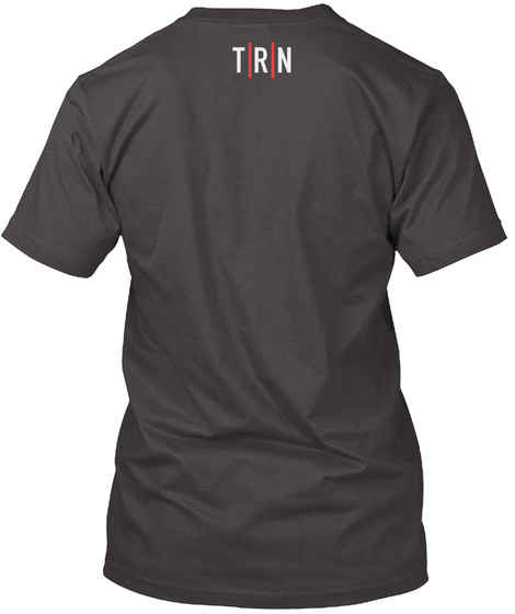 Film Revered Podcast Tee Heathered Charcoal  T-Shirt Back