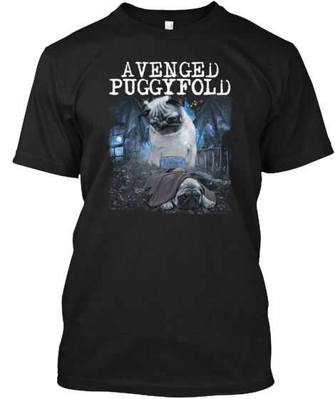 Avenged Puggyfold Black T-Shirt Front