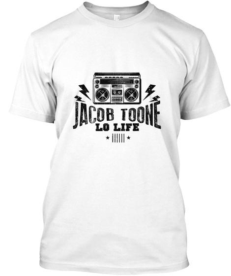 Jacob Toone Lo Life White T-Shirt Front