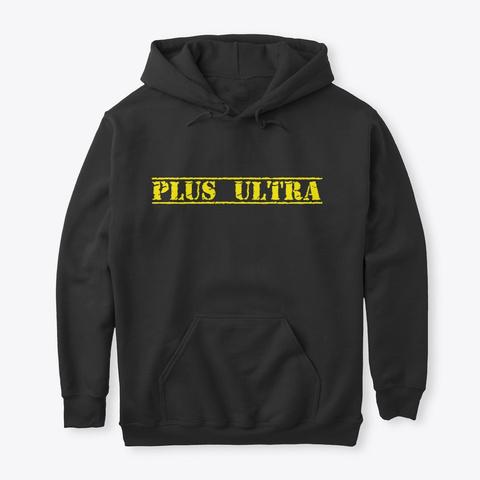 Plus Ultra Black T-Shirt Front